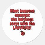 amongst the ladybugs sticker