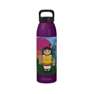 Amongst the Mushrooms Water Bottle