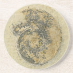 Amonita alemana con las dendritas posavasos personalizados