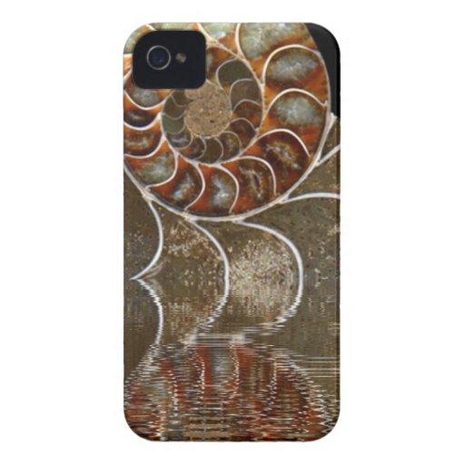 Amonita iPhone 4 Carcasas