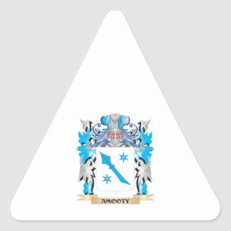Amooty Coat Of Arms Triangle Stickers
