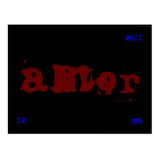amor (12 jun 2011) postcard