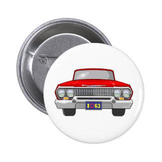 Amor 1963 de I Chevrolet Pin Redondo De 2 Pulgadas