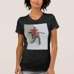 Amor #1 del mono del calcetín camiseta