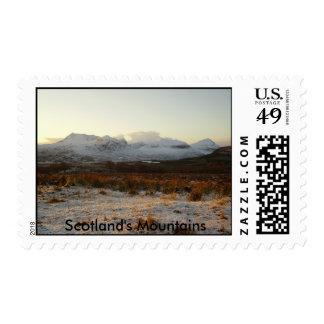 amor 1, las montañas de Escocia Franqueo