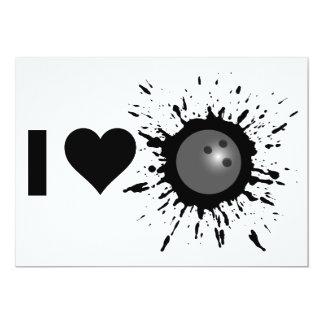 """Amor 1 que rueda del explosivo I Invitación 5"""" X 7"""""""