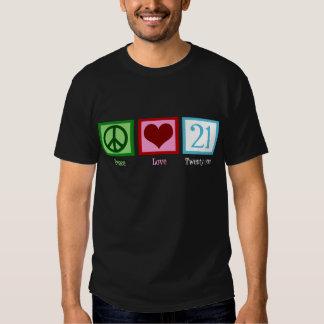 Amor 21 de la paz remera