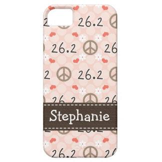 Amor 26,2 de la paz iPhone 5 cárcasa