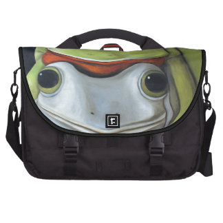Amor 2 de la rana bolsa de ordenador