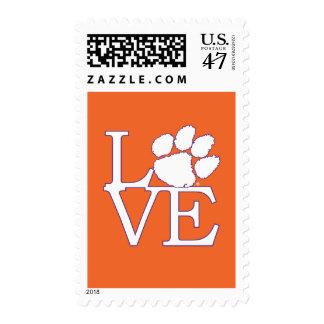 Amor 2 de la universidad de Clemson Timbre Postal