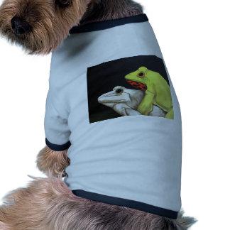 Amor 3 de la rana camisa de perrito
