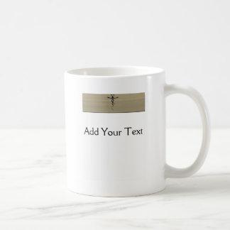 Amor 3 del dragón taza de café