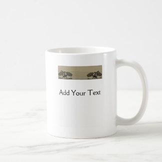 Amor 4 del dragón taza de café