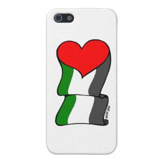 ¡Amor 4 Palestina! iPhone 5 Carcasas