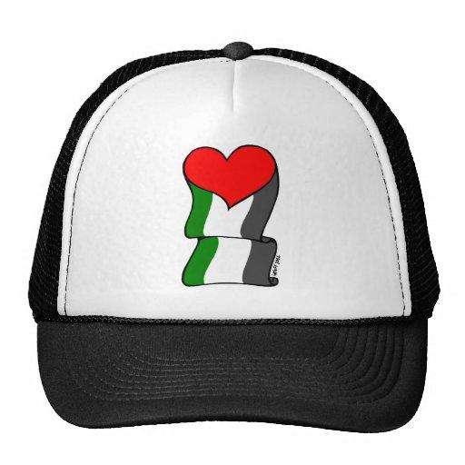 ¡Amor 4 Palestina! Gorro De Camionero