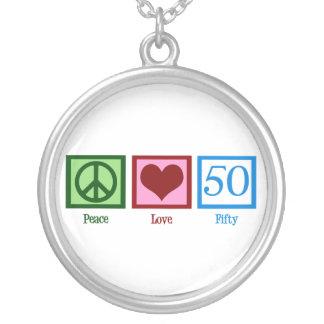 Amor 50 de la paz grimpolas personalizadas