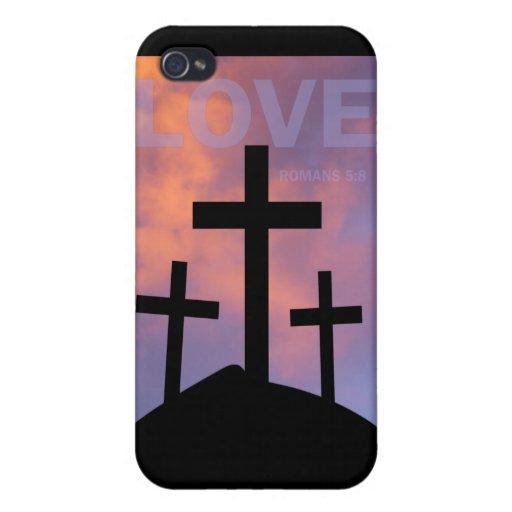AMOR - 5:8 de los romanos iPhone 4 Coberturas