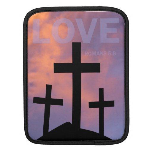AMOR - 5:8 de los romanos Fundas Para iPads