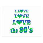 Amor 80s del amor postal