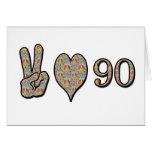 Amor 90 de la paz felicitaciones
