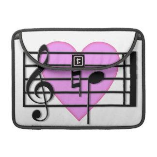 "Amor a ""B natural "" Fundas Para Macbook Pro"