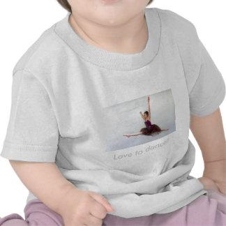 ¡Amor a bailar! Camisetas