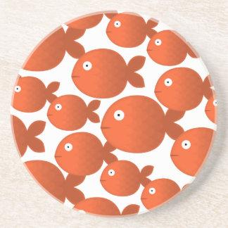 Amor a pescado posavasos manualidades