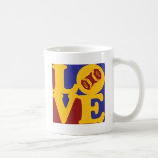 Amor acordeón taza
