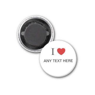 "Amor adaptable de I imán de ""cualquier texto aquí"""