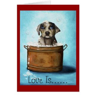 Amor adolescente tarjeta de felicitación