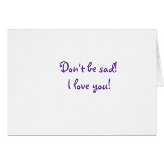 Amor adolescente tarjeta pequeña