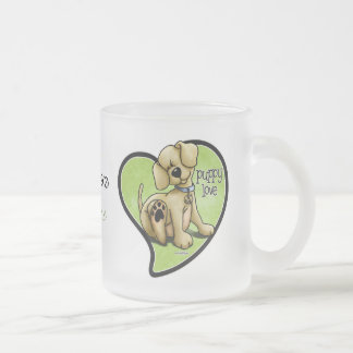 Amor adolescente - taza del perro