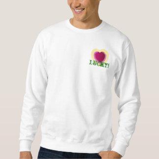 ¡Amor afortunado! Camiseta - personalizar Sudadera Con Capucha