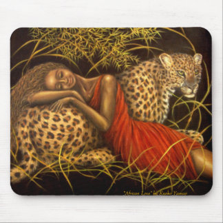 Amor africano Mousepad Tapetes De Ratones