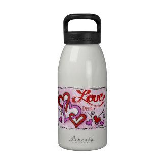 Amor Botella De Agua Reutilizable