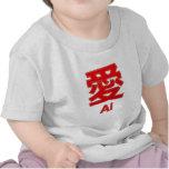 Amor (Ai) Camisetas