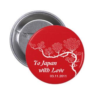 Amor al botón de la flor de cerezo de Japón