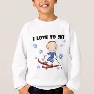 Amor al esquí - camisetas y regalos del muchacho