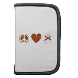 Amor Alabama de la paz Planificadores