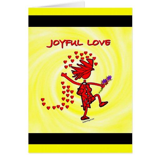 Amor alegre para siempre felicitaciones