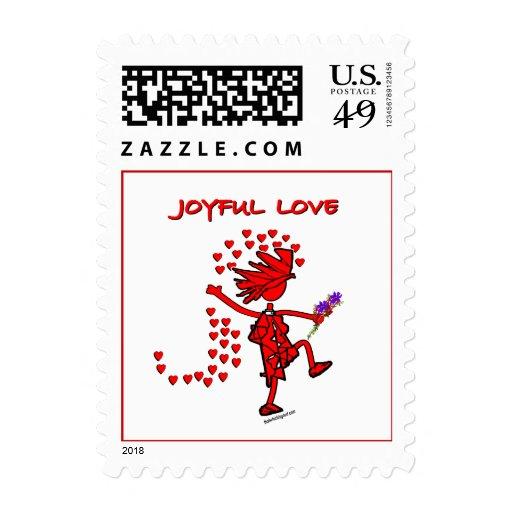 Amor alegre para siempre sellos