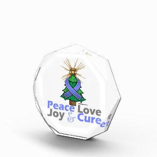 Amor alegría y curación de la paz del navidad de