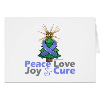 Amor, alegría y curación de la paz del navidad de  felicitacion