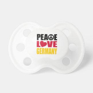 Amor Alemania de la paz Chupetes Para Bebés