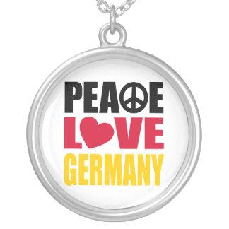 Amor Alemania de la paz Pendientes Personalizados