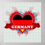 Amor Alemania del vintage I Posters