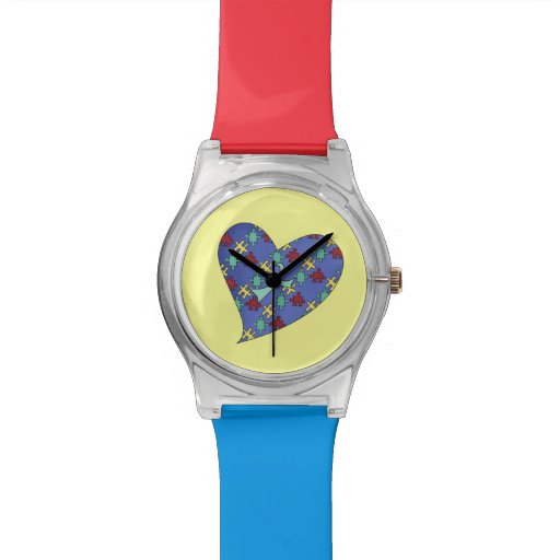 Amor alguien con autismo relojes de mano