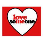 Amor alguien postales