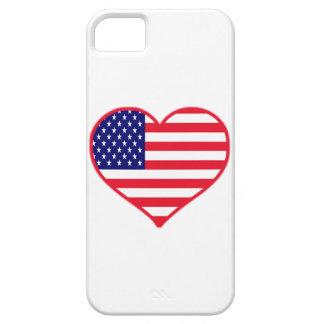 Amor América de los E.E.U.U.I iPhone 5 Case-Mate Carcasa