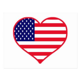 Amor América de los E.E.U.U.I Postales